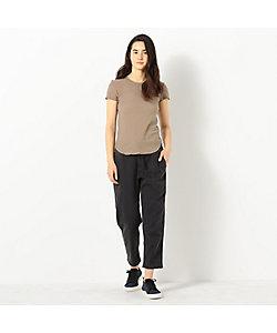 JAMES PERSE(Women)/ジェームスパース スラブジャージー クルーネックTシャツ WUA3037