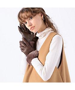 maison TOMORROWLAND/メゾン トゥモローランド Gloves ファーグローブ