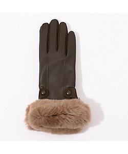 maison TOMORROWLAND/メゾン トゥモローランド Gloves オリラグファーグローブ