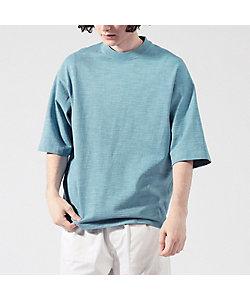 TOMORROWLAND (Men)/トゥモローランド スラブ吊天竺 ビッグシルエット Tシャツ