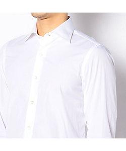 TOMORROWLAND (Men)/トゥモローランド ERRICO FORMICOLA コットンサテン セミワイドカラー ドレスシャツ