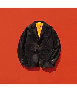 TOMORROWLAND (Men)/トゥモローランド ウールホップサック 段返り3Bビッグブレザージャケット