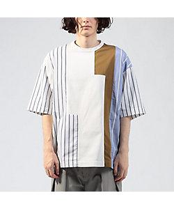 TOMORROWLAND (Men)/トゥモローランド デラヴェジャージー ハギTシャツ