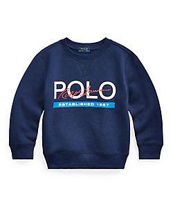 POLO RALPH LAUREN CHILDREN (BOYS&GIRLS)/ポロ ラルフローレン チルドレン(ボーイズ&ガールズ) ロゴ フリース スウェットシャツ