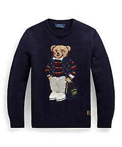 POLO RALPH LAUREN CHILDREN (BOYS&GIRLS)/ポロ ラルフローレン チルドレン(ボーイズ&ガールズ) Poloベアコットンブレンドセーター