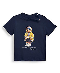 RALPH LAUREN BABY(Baby&Kids)/ポロ ラルフローレン チルドレン(ベビー) CP-93 ベア コットン ジャージー Tシャツ