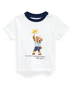 RALPH LAUREN BABY(Baby&Kids)/ポロ ラルフローレン チルドレン(ベビー) スパークラー ベア コットン Tシャツ