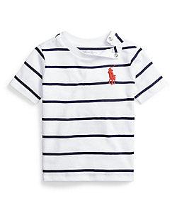 RALPH LAUREN BABY(Baby&Kids)/ポロ ラルフローレン チルドレン(ベビー) コットン ジャージー クルーネック Tシャツ