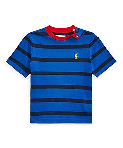 RALPH LAUREN BABY(Baby&Kids)/ポロ ラルフローレン チルドレン(ベビー) ストライプド コットン ジャージー Tシャツ
