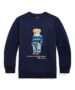 POLO RALPH LAUREN CHILDREN (BOYS&GIRLS)/ポロ ラルフローレン チルドレン(ボーイズ&ガールズ) ラグビー ベア コットン ジャージー Tシャツ