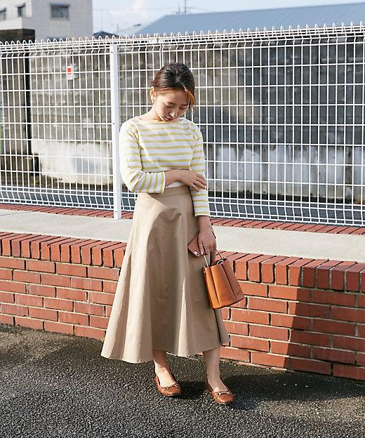 フレアミディスカート スモールサイズ