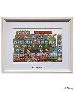 ディズニーアートコレクション/ジクレークリアアート Duck Family Tree/DAE-02