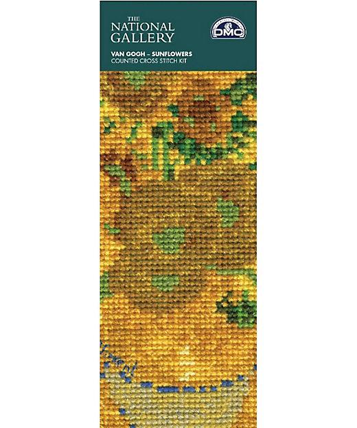 <DMC/ディーエムシー> National Gallery×DMC 刺しゅうキット しおりサイズ Sunflowers【三越伊勢丹/公式】