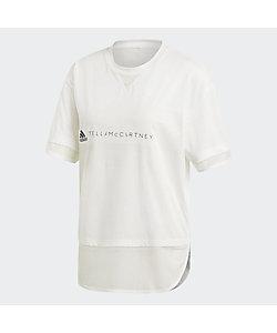 adidas by Stella McCartney(Women)/アディダスバイステラマッカートニー aSMC LOGO TEE DT9227