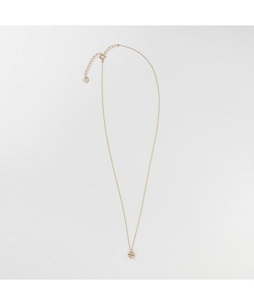 【伊勢丹新宿店限定】10k stone small tied necklace