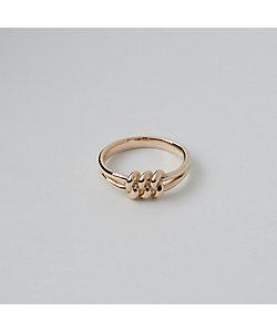 ENELSIA/エネルシア 10k Tied Ring