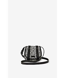 KENZO(Women)/ケンゾー Courier mini jacquard messenger bag
