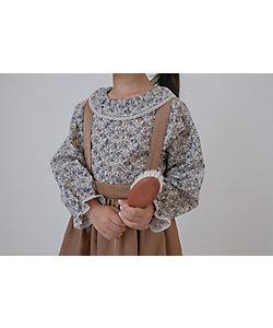 june little closet(Baby&Kids)/ジューン リトルクローゼット Frill collar blouse