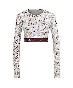 adidas by Stella McCartney(Women)/アディダスバイステラマッカートニー aSMC TPR CROP LS PRINT GL7335