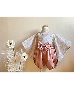 HANA(Baby&Kids)/ハナ 袴 ミッシェル blue&pink L