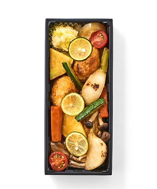 <おいしいプラス/オイシイプラス>【店頭お受け取り商品】鶏つくねと彩り野菜+ごはん【三越伊勢丹/公式】