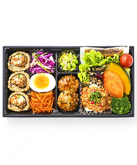 <いとはん>【店頭お受け取り商品】1/2日分の野菜が摂れる和さらだ弁当【三越・伊勢丹/公式】