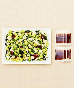 【店頭お受け取り商品】アボカドと沖縄島豆腐の和さらだ パーティープレート
