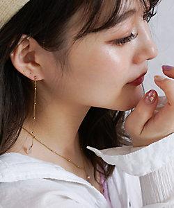 blancotokyo/ブランコトーキョー 別注idealist-rose quartz-(ノンホールピアス)(ISPI01ER)