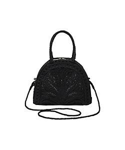 Mame Kurogouchi(Women)/マメ クロゴウチ Cording Embroidery Demi Lune Handbag