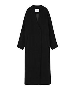 Mame Kurogouchi(Women)/マメ クロゴウチ 三越伊勢丹別注カラー Mosser Wool Cashmere Collarless Coat