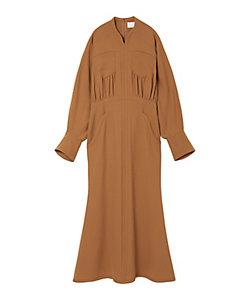 Mame Kurogouchi(Women)/マメ クロゴウチ Wool Georgette Flare Dress