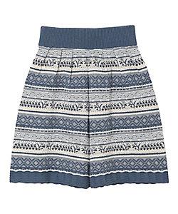 Mame Kurogouchi(Women)/マメ クロゴウチ Multi-Colour Jacquard Knit Shorts