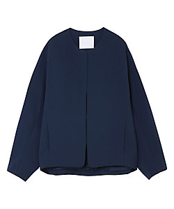 Mame Kurogouchi(Women)/マメ クロゴウチ Collarless Jacket With Hook Fastenings