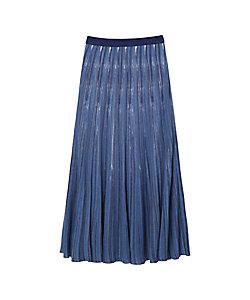 Mame Kurogouchi(Women)/マメ クロゴウチ Ribbed Knit Flare Skirt