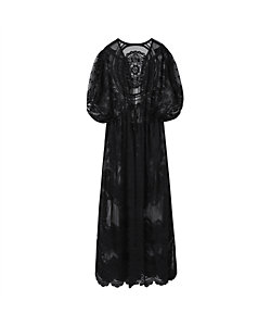 Mame Kurogouchi(Women)/マメ クロゴウチ Curtain Lace Drawstring Waist Coat