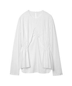 Mame Kurogouchi(Women)/マメ クロゴウチ Cotton Jersey Curtain Motif Top