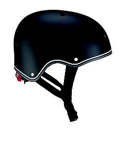 GLOBBER/グロッバー <48~53cm>LEDライト付きヘルメット(ブラック)
