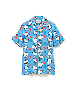 Aloha Blossom(Women)/アロハブロッサム Shirts BLUE