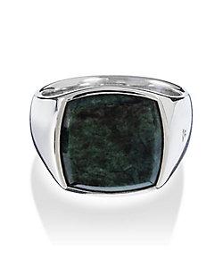 TOMWOOD/トムウッド Cushion Green Marble Ring M