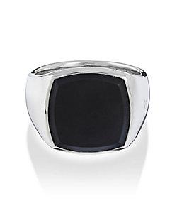 TOMWOOD/トムウッド Cushion Black Onyx Ring