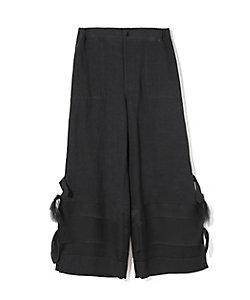 UNDERCOVER(Women)/アンダーカバー 裾結びクロップドパンツ