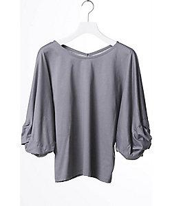 divka(Women)/ディウカ ツイステッドTシャツ
