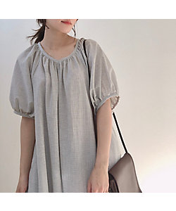 june little closet(Baby&Kids)/ジューン リトルクローゼット ladies Summer dress / grey gingham