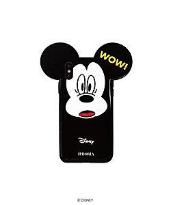 「MICKEY/WOW」スマートフォンケース(iPhone X/iPhone XS 対応)(53298)