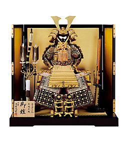 平安光雲/ヘイアンコウウン 【三越カタログNo.31】光雲作 鎧飾りセット